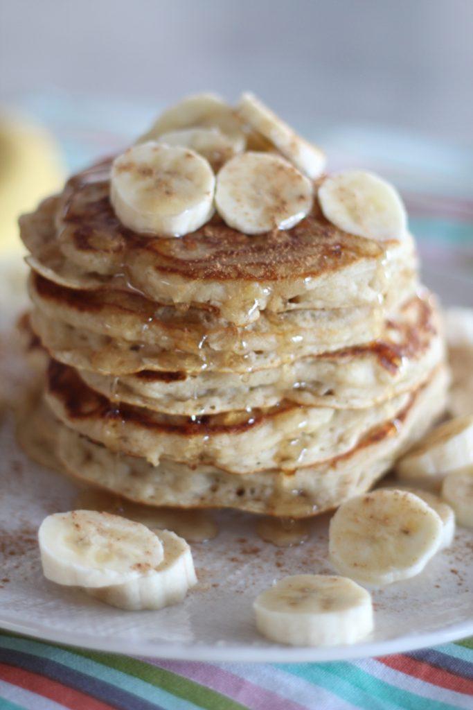 Banana Bread Buttermilk Pancakes