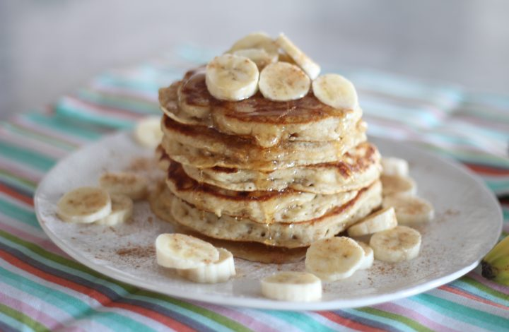 Banana Bread Buttermilk Pancakes