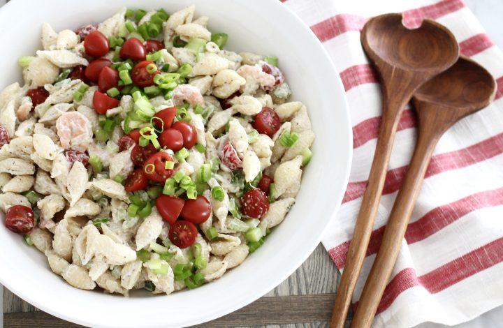 Classic Shrimp Pasta Salad