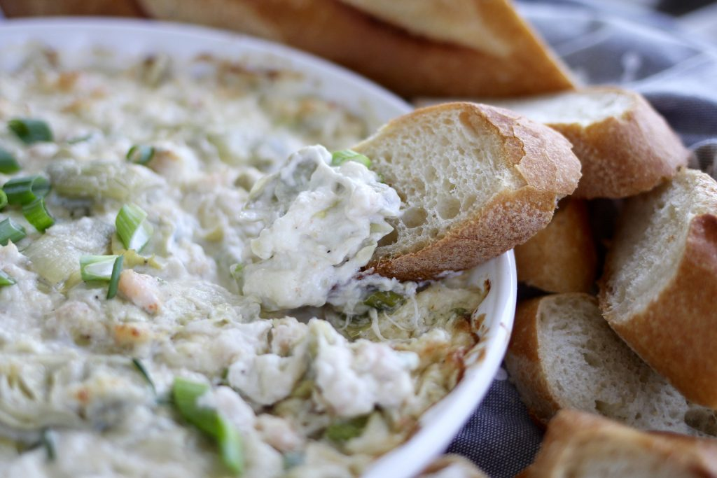 Baked Crab, Shrimp and Artichoke Dip