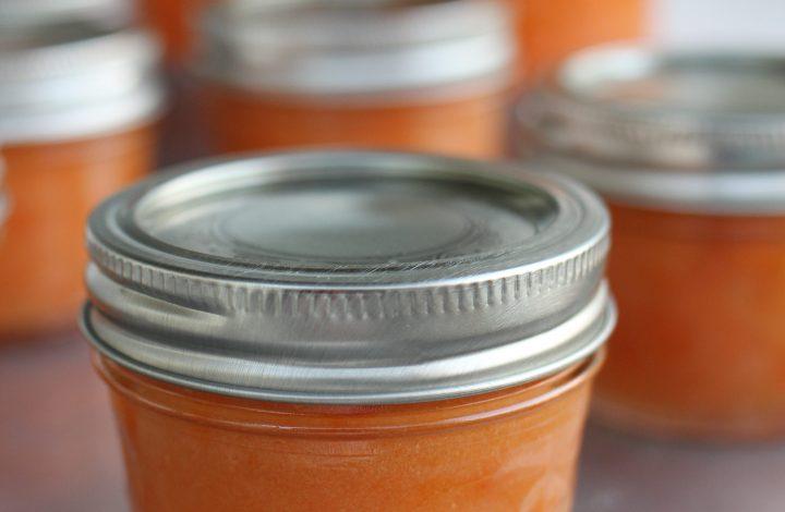 Apricot Almond Freezer Jam
