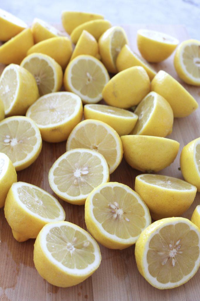 Homemade Lemonade for a Crowd