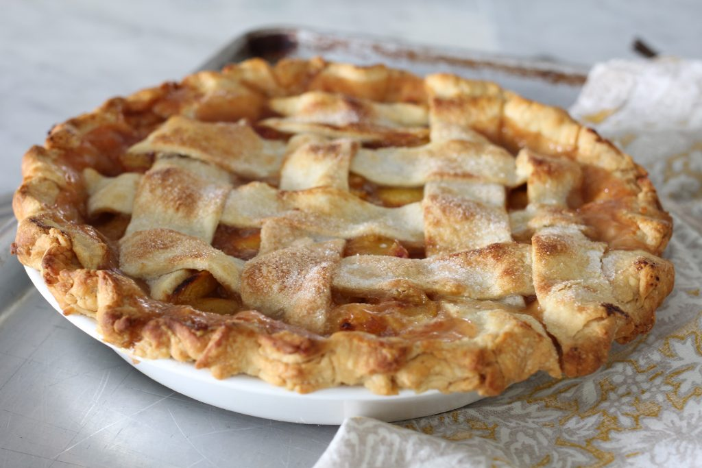 The Most Wonderful Peach Pie
