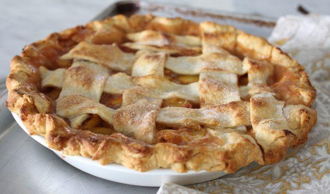 Wonderful Peach Pie