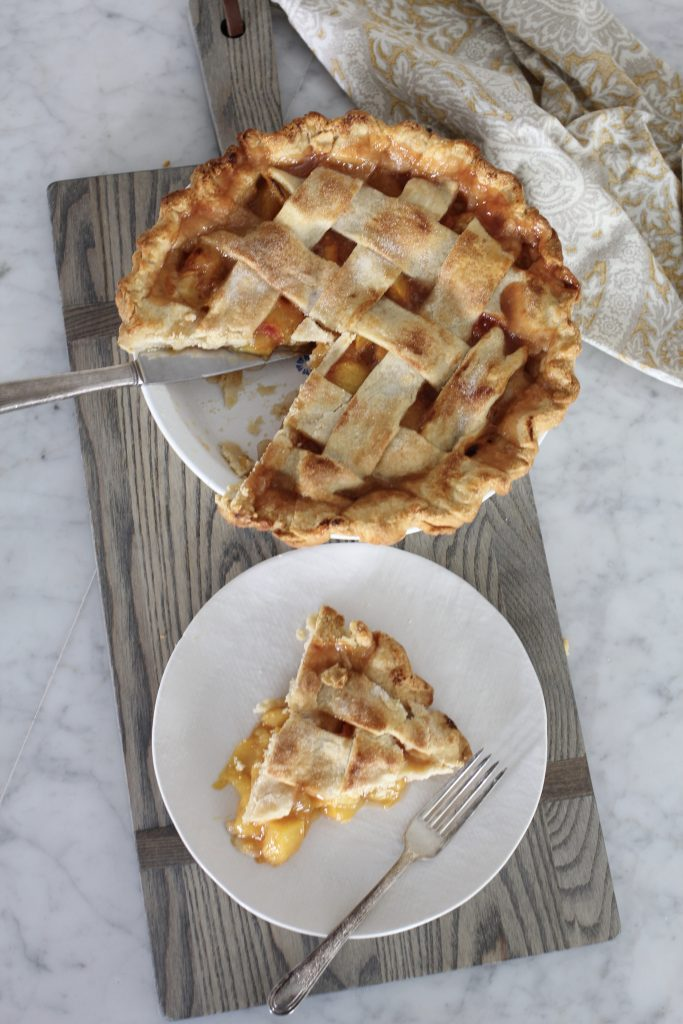 Wonderful Peach Pie