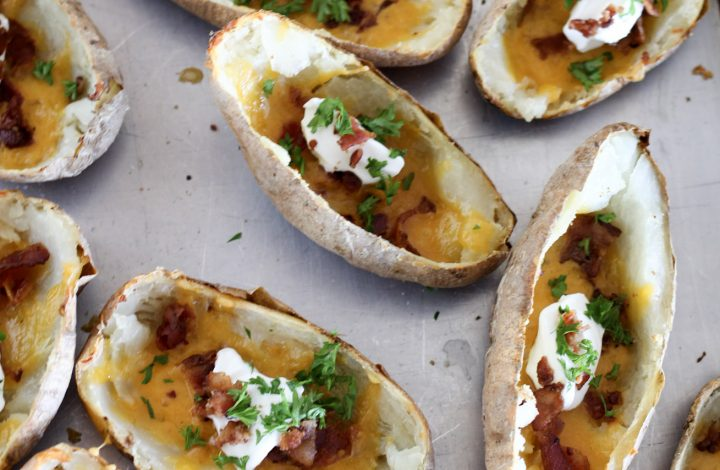Game Day Baked Potato Skins