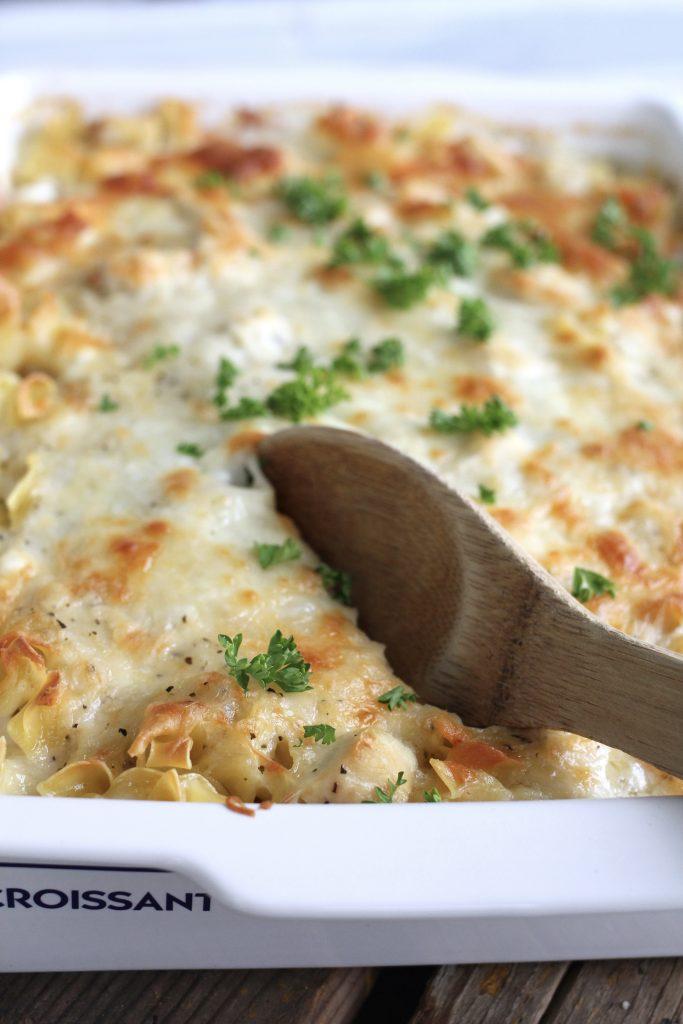 Aunt Sheri's Chicken Lasagna