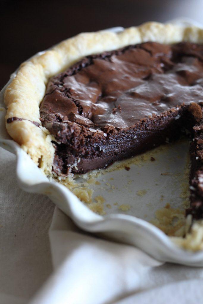 Fudge Brownie Pie