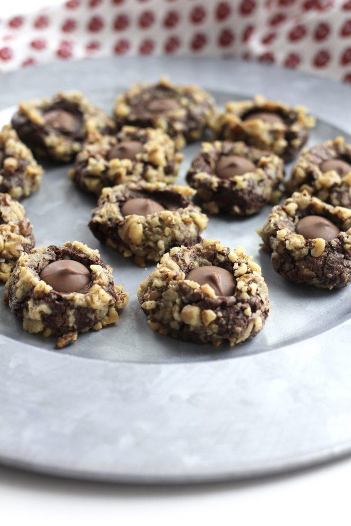 Chocolate Walnut Buttons