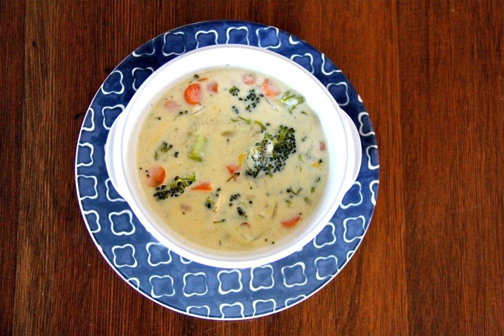 Panera Copycat Cheddar Broccoli Soup