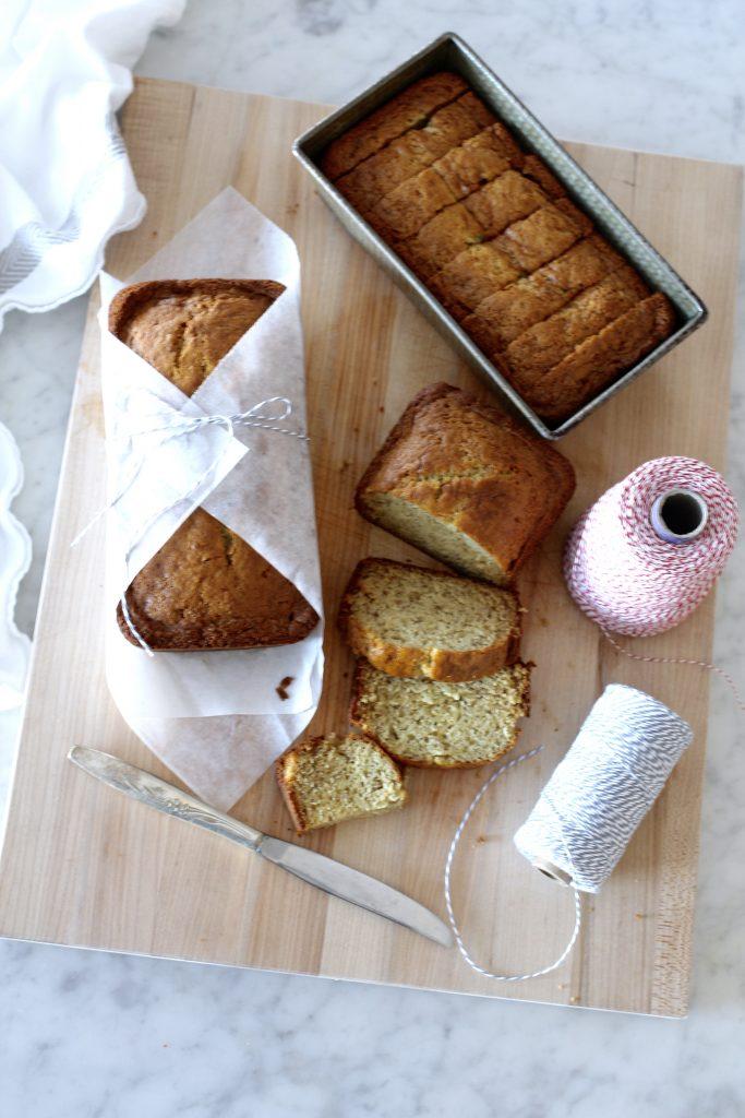 Favorite Sour Cream Banana Bread