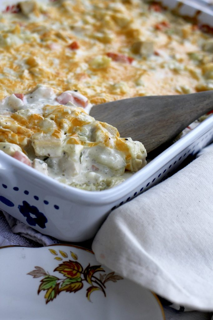 Cream Cheese Chicken Casserole