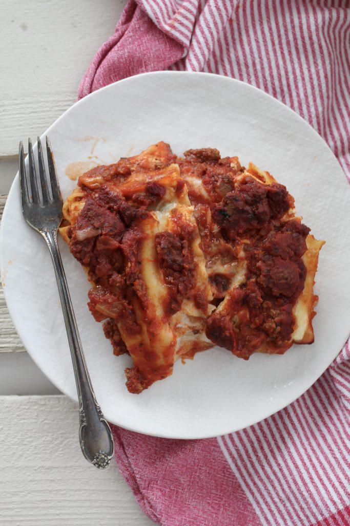 Classic Ricotta Lasagna