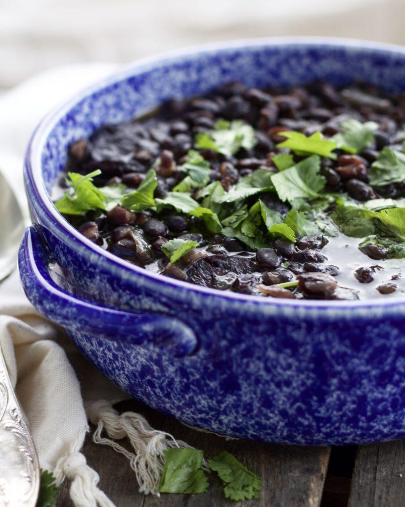 No Soak Instant Pot Black Beans