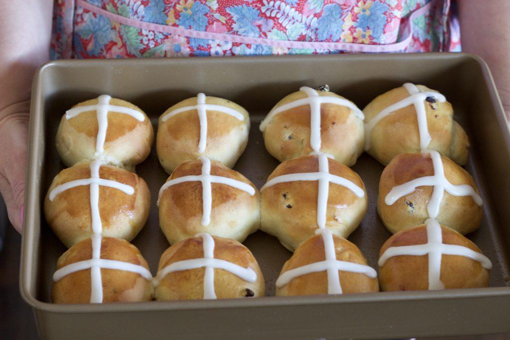 Homemade Hot Cross Buns