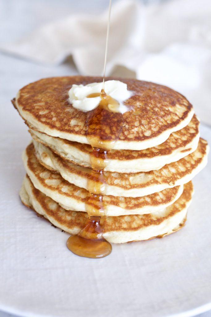 Southern Buttermilk Pancakes