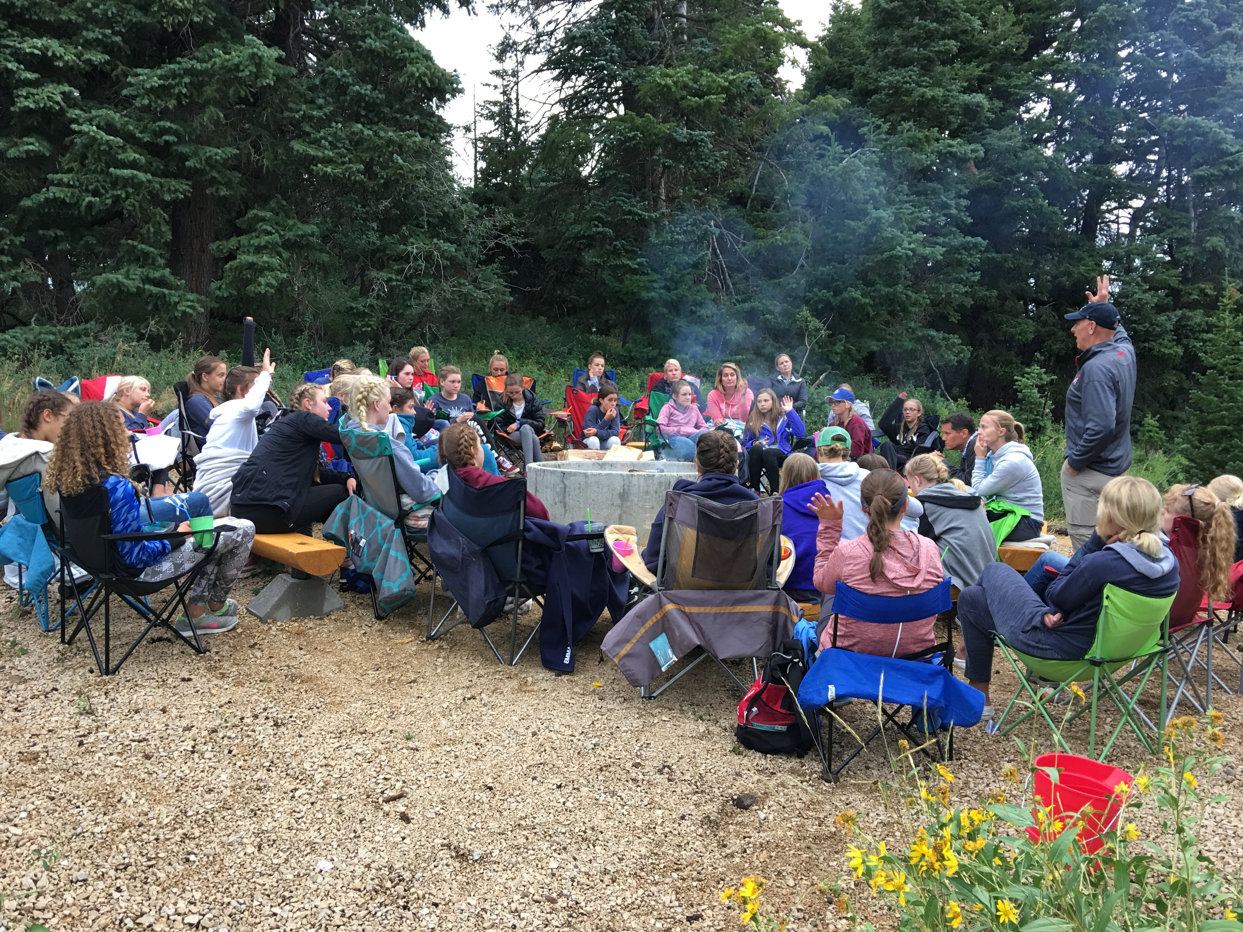 How to Plan Girl's Camp Food and Cook for a Crowd