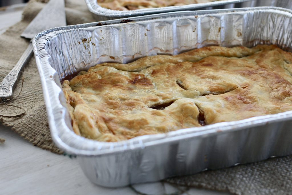 Apple Cherry Pie for a Crowd