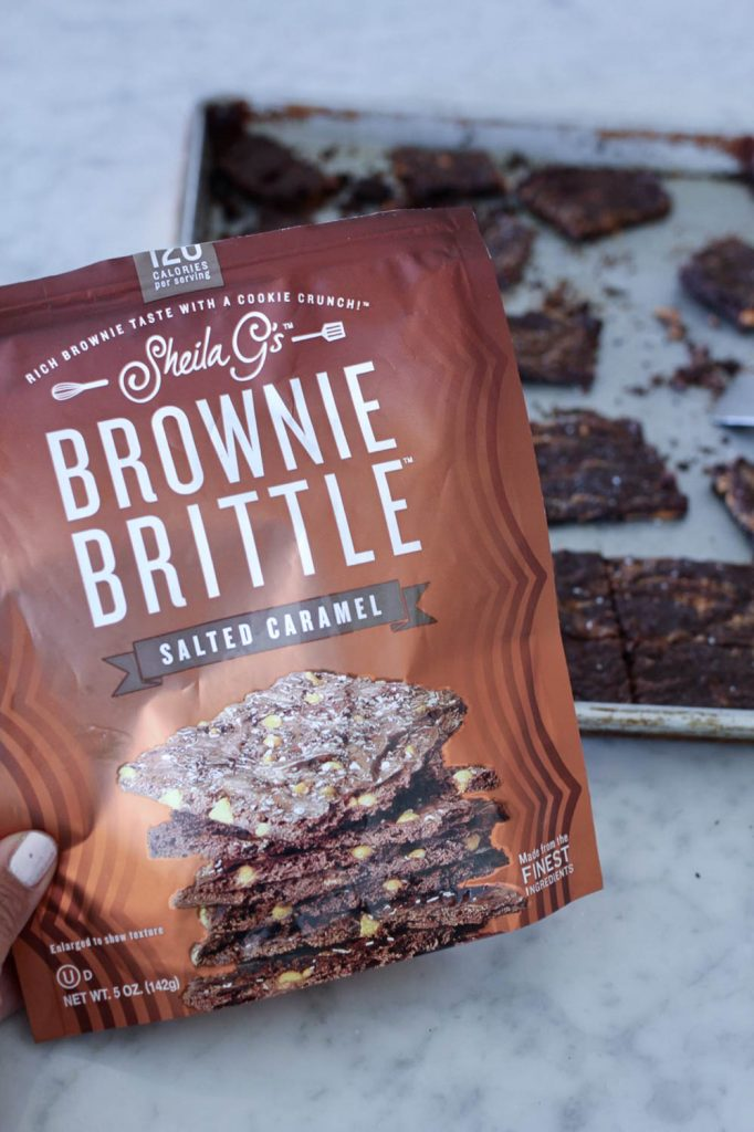 Salted Caramel Brownie Brittle