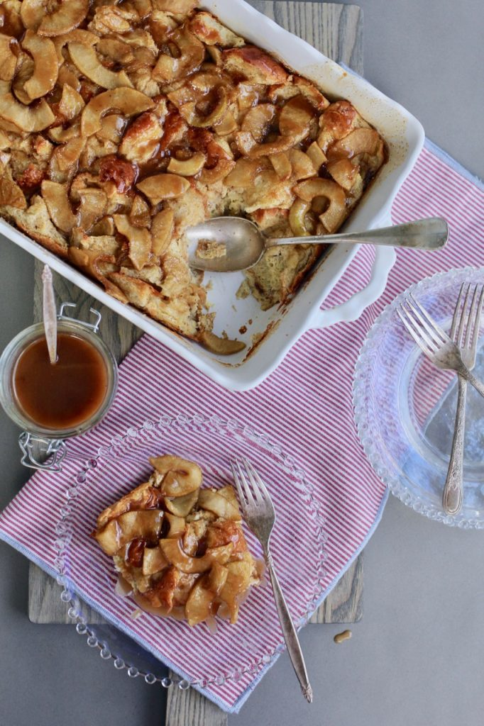 Caramel Apple Breakfast Bake