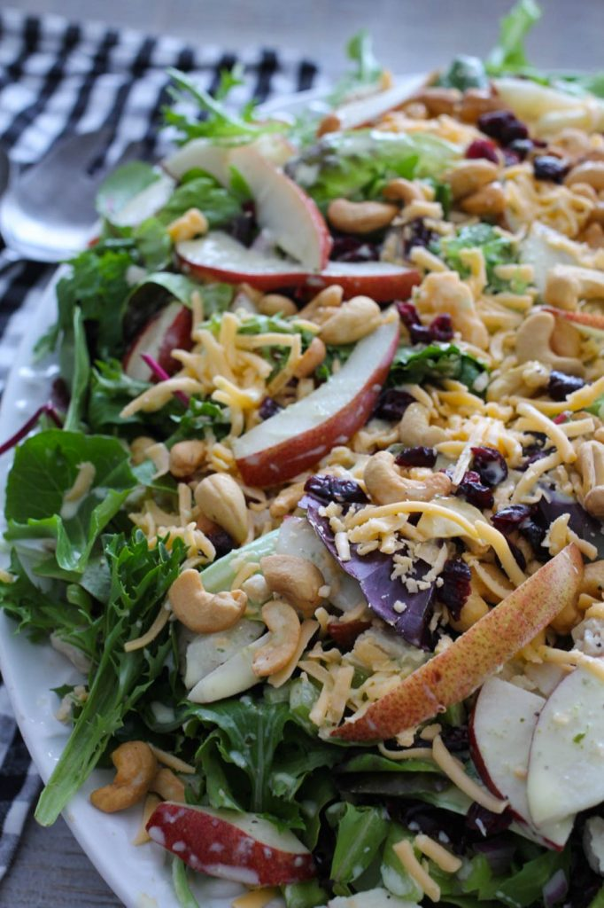 Chicken, Pear and Smoked Gouda Salad