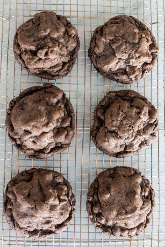 Levain Bakery Dark Chocolate Chocolate Chip Cookies