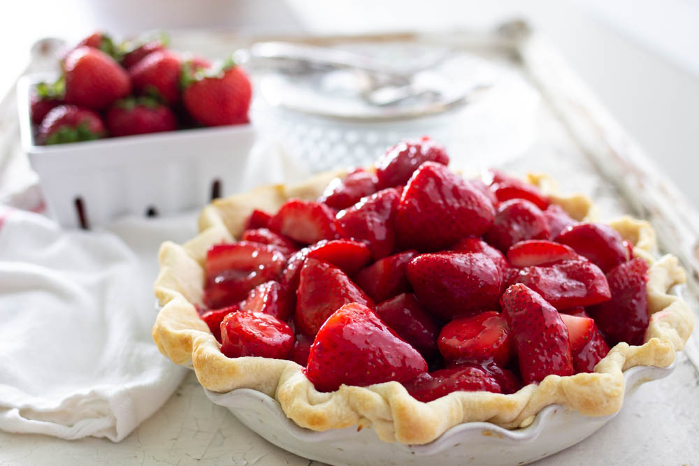 ABK Fresh Strawberry Pie
