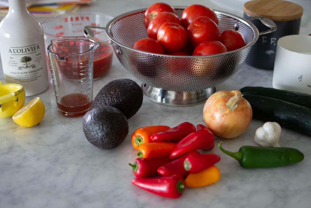 How to Make Gazpacho