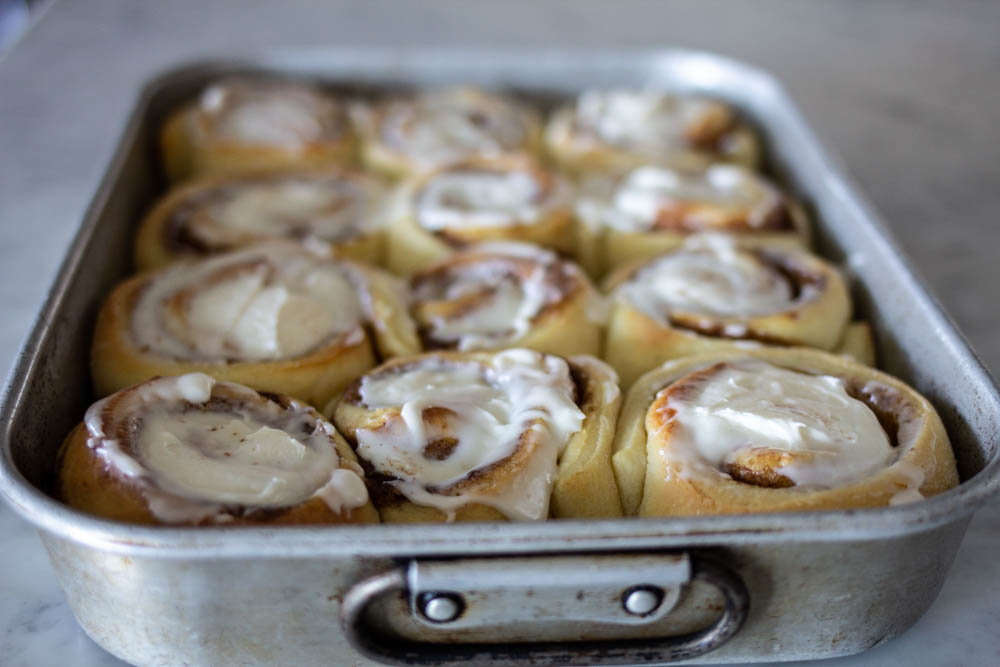 How to make Overnight Cinnamon Rolls