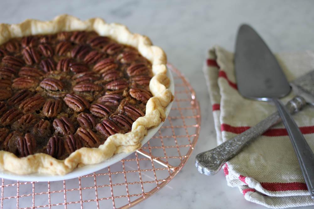 Easy pecan pie!