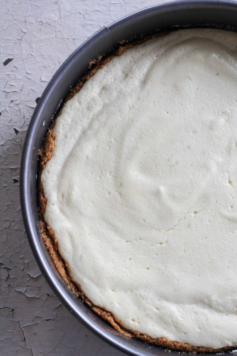 Key Lime Pie in Springform Pan