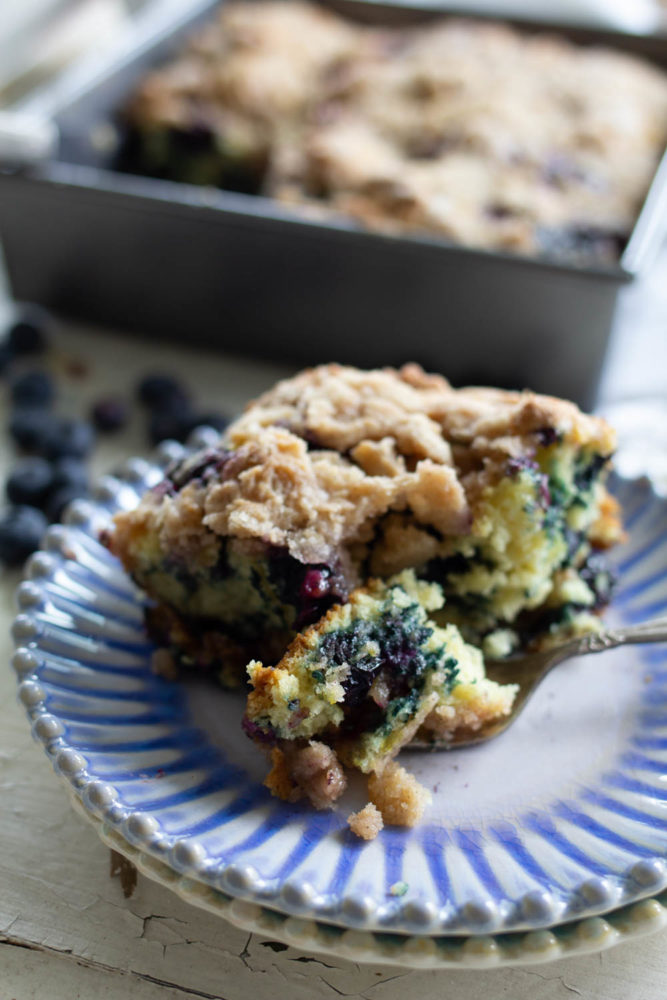 Blueberry Buckle Dessert