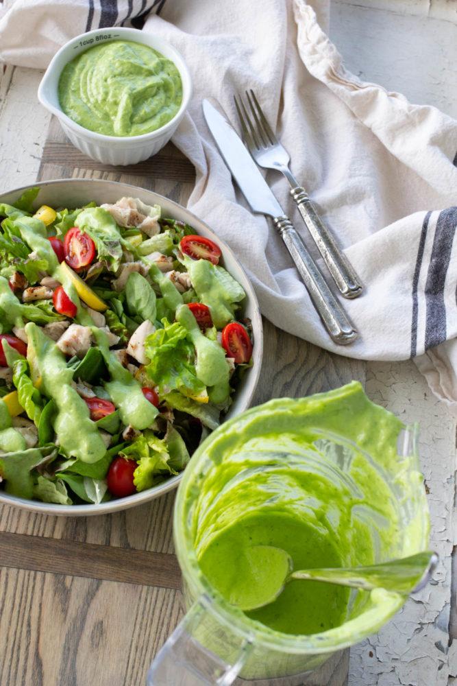 Trader Joe's Green Goddess Salad Dressing Copycat