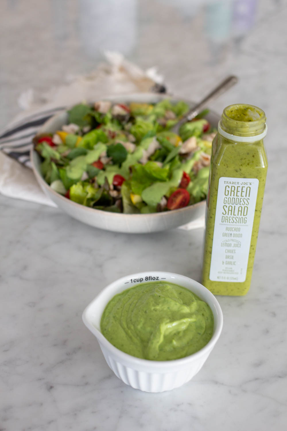 Trader Joe S Green Goddess Dressing A Bountiful Kitchen