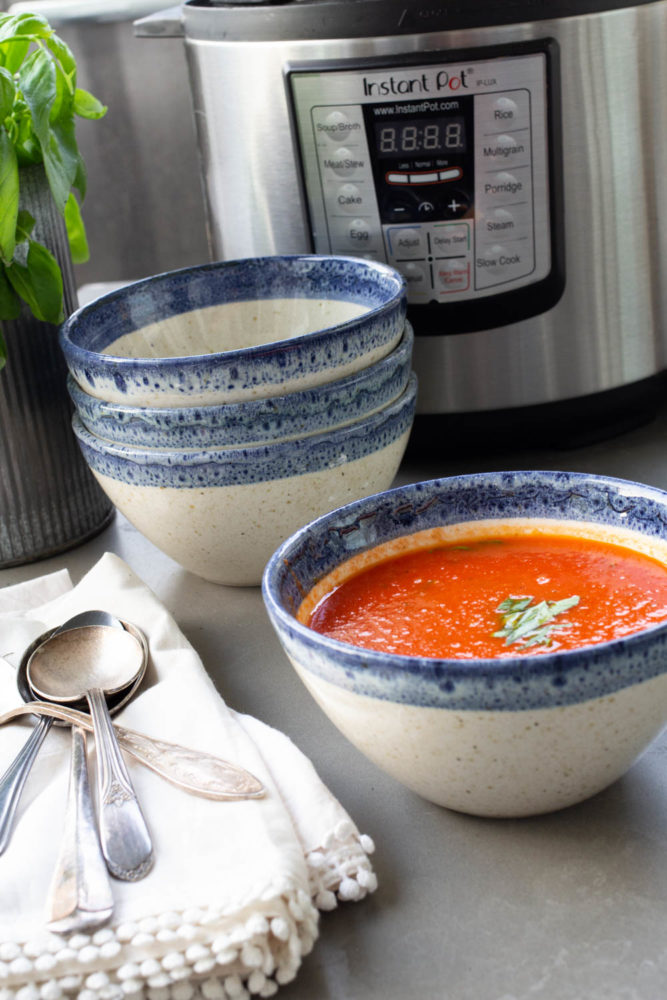 Instant Pot Fresh Tomato Soup