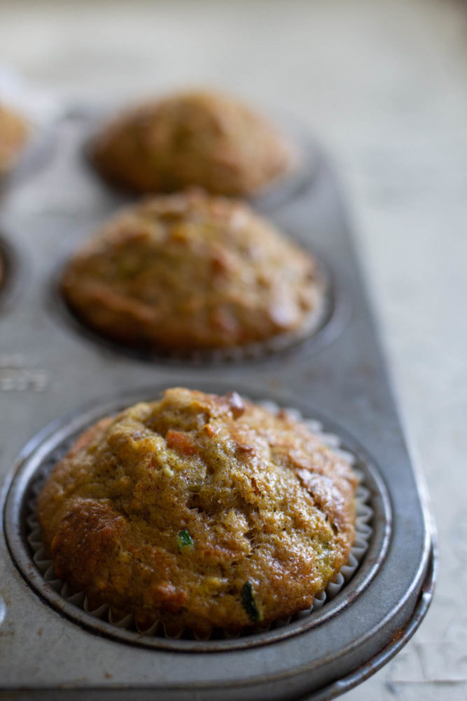 Amy's Bakery in NYC Zucchini, Carrot and Apple Muffins