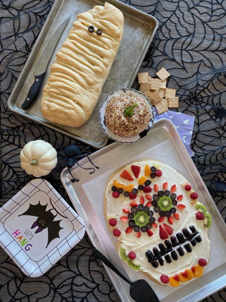 Halloween dinner with Stromboli