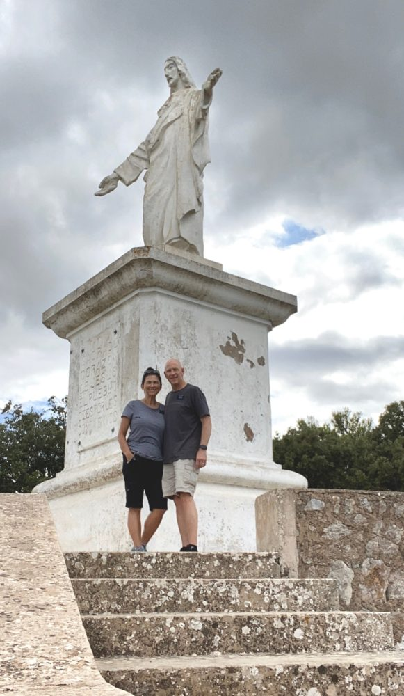 Esporles, Mallorca Christ Statue