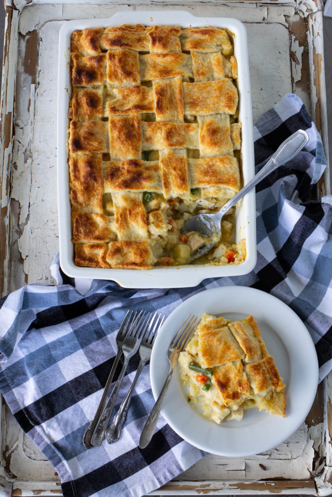 Oh-My Chicken Pot Pie