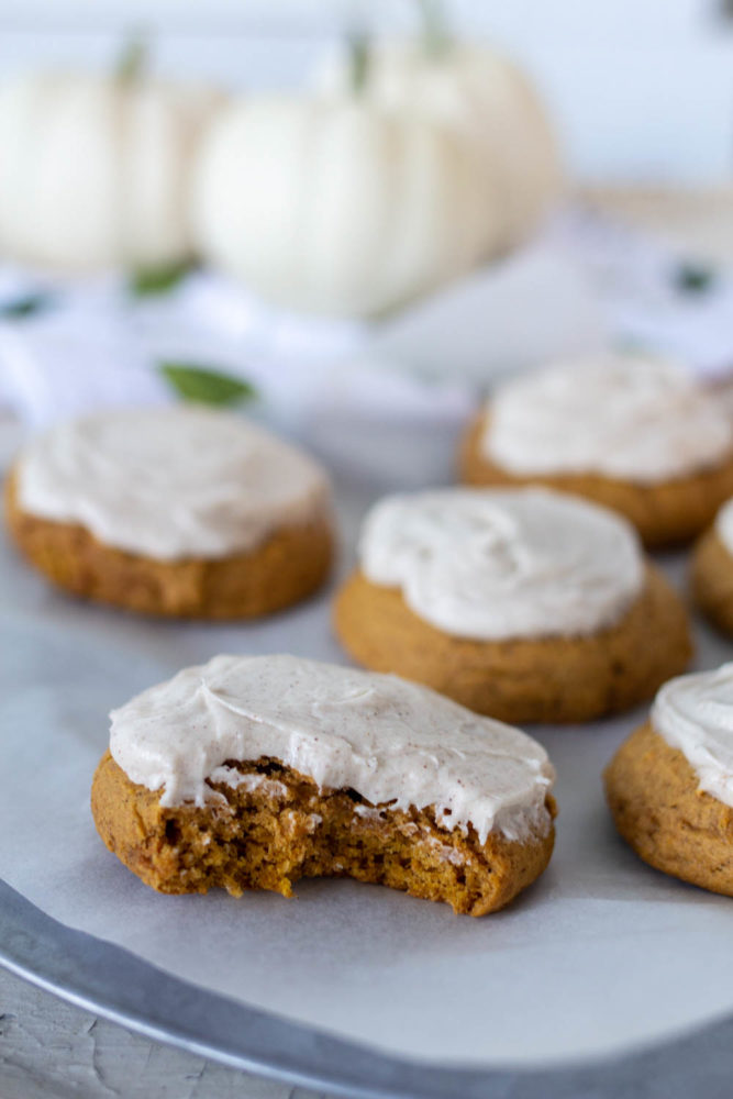 Pumpkin Cookies without Chocolate Chips