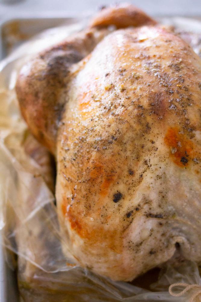 golden brown turkey