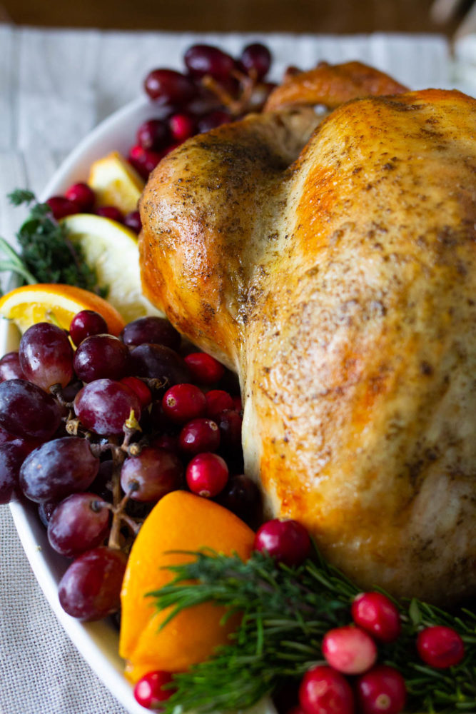Roast turkey in a bag