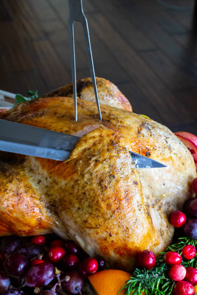 Perfect roasted Thanksgiving turkey