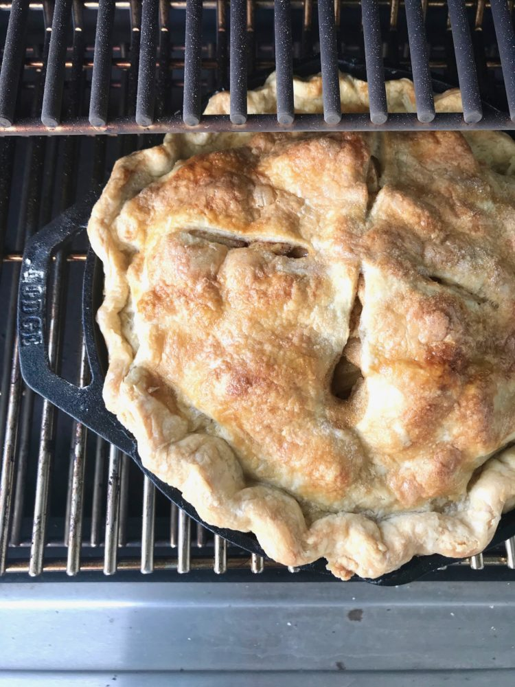 How to bake pie on the Traeger Grills