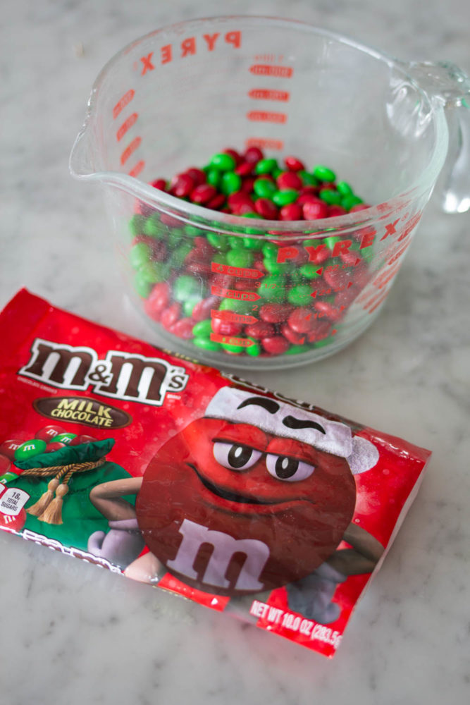 Milk Chocolate M&M's for cookie recipe
