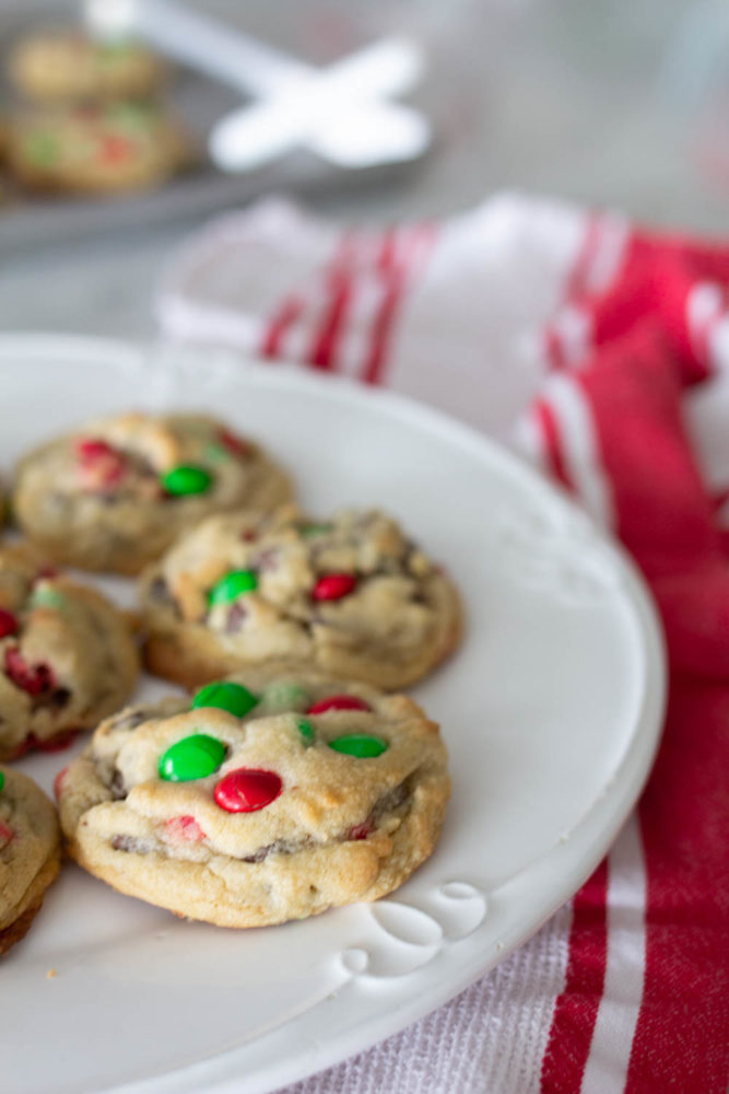 Red and Green M&M Cookie Recipe