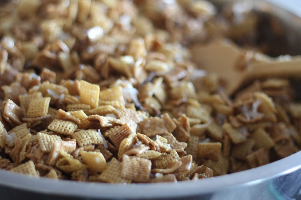 How to make Golden Graham Cereal treat