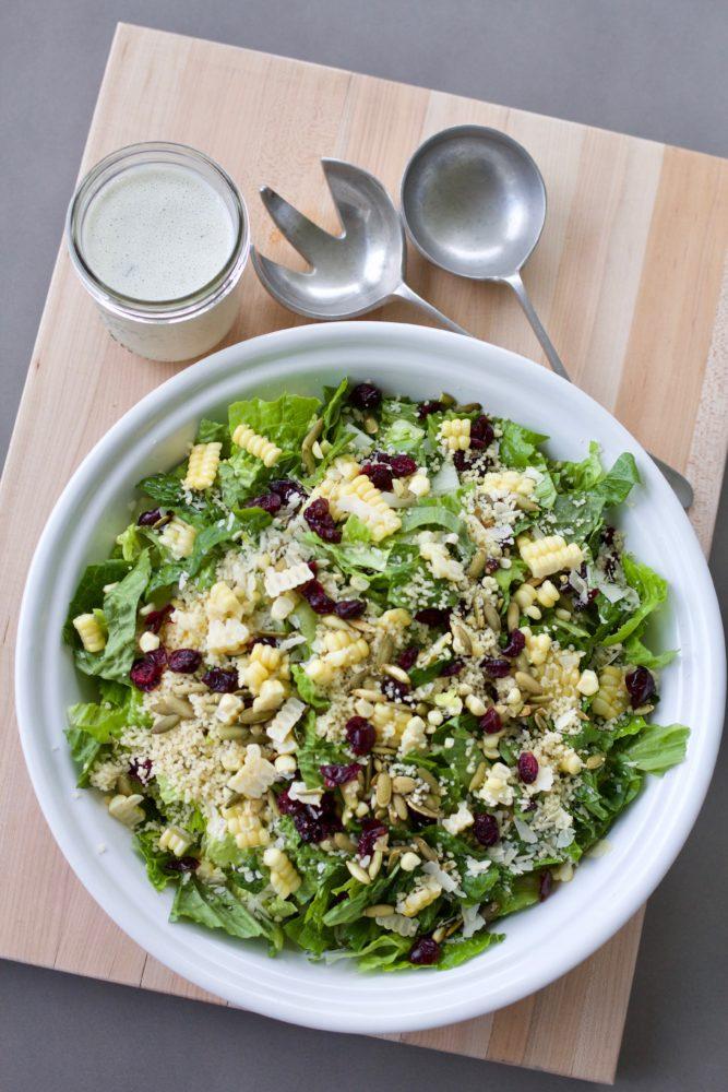 Basil Couscous Salad