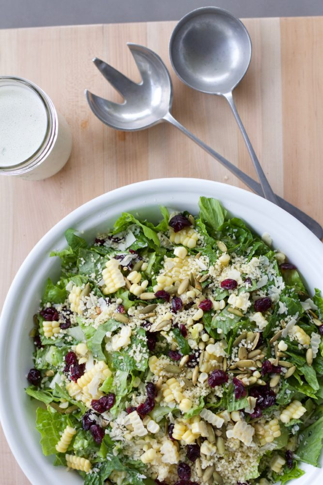 Couscous with greens and Craisins