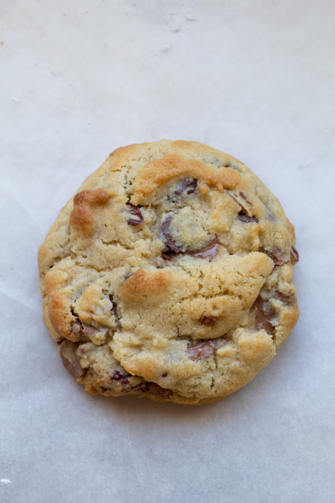 One Levain Bakery homemade Chocolate Chip Cookie